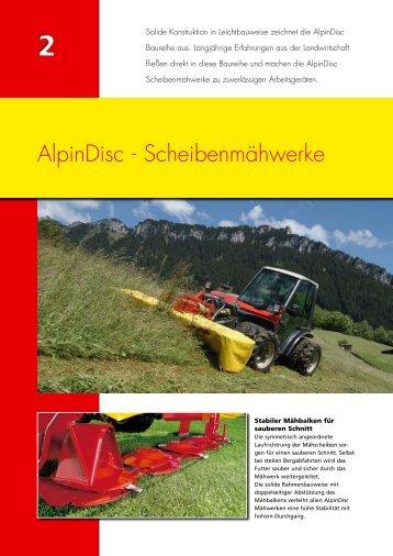 AlpinDisc - Scheibenmähwerke
