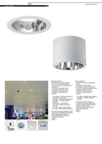 Metal Halide G12 - Spazio Lighting