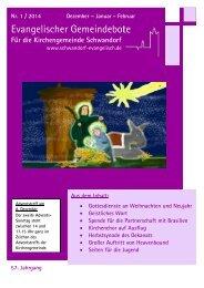 Evangelischer Gemeindebote - Schwandorf