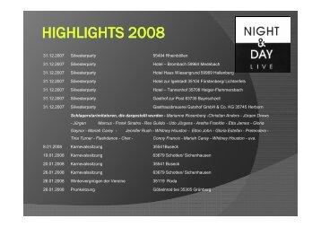 HIGHLIGHTS 2008.pdf - Night & Day Live