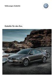 Zubehör für den Eos. - Volkswagen AG