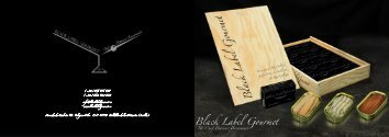 Triptico Conservas Black Label Gourmet