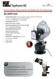 Typhoon RC elektrischer Wasserwerfer - Leader GmbH