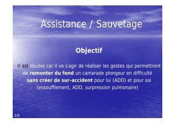 Assistance / Sauvetage - Jacquet Stephan