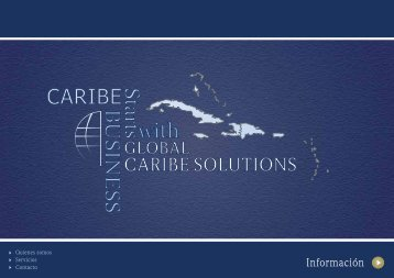 CATALOGO SERVICIOS GCS.pdf - Global Caribe Solutions