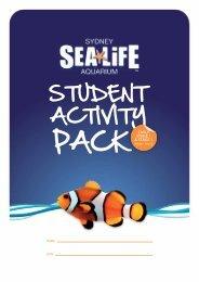 Student Activity Pack (SAP) Early Stage 1 ... - Sydney Aquarium