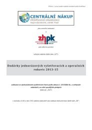 ZH R13 - ZD.pdf - Centrální nákup, příspěvková organizace zřízená ...
