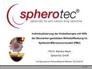 Individualisierung der Krebstherapie mit Hilfe der Biomarker ...