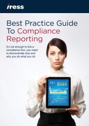 Best Practice Guide To Compliance Reporting - Avelo