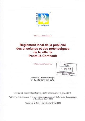 Proces verbal cm 20 juin 2012 site officiel de la ville for Piscine de pontault