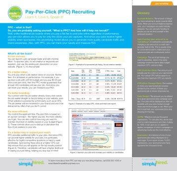 Pay-Per-Click (PPC) Recruiting