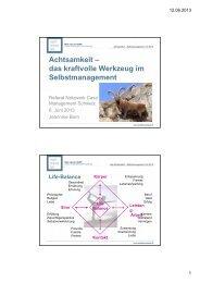 Achtsamkeit - Netzwerk-CM Schweiz
