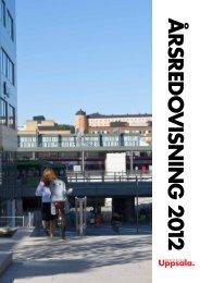 Destination Uppsalas årsredovisning 2012