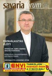 pápaválasztás elôtt interjú dr. veres andrás megyés püspökkel ...