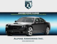 ARMORED DODGE CHARGER - Alpine Armoring Inc.