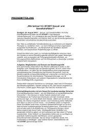 Wie betreut NEUSTART Sexual- und Gewaltstraftäter? |PDF