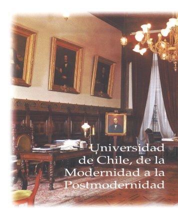 Universidad de Chile, de la Modernidad a la Postmodernidad