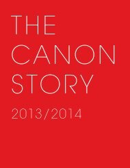 THE CANON STORY