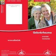 Gelenkrheuma - Aliud Pharma GmbH & Co. KG