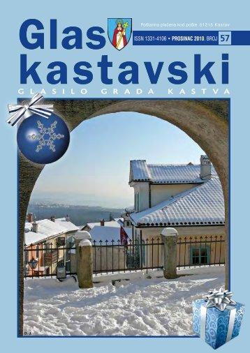 glas kastavski 57 / prosinac 2010 - Grad Kastav