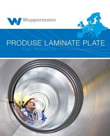 Produse laminate Plate