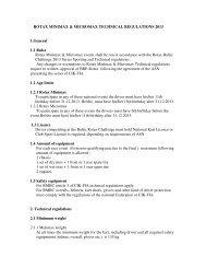 ROTAX MINIMAX & MICROMAX TECHNICAL REGULATIONS 2013 ...