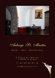 Auberge St. Martin - Cms.sictiam.com