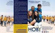 HOBY Brochure