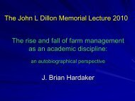 The rise and fall of farm management as an academic discipline