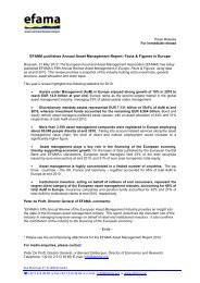 EFAMA publishes Annual Asset Management Report: Facts ...