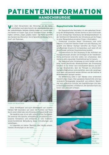 patienteninformation - Praxisklinik Orthopädie Franziskushospital ...