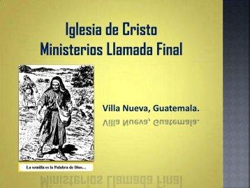 El Misterio de YHWH - IGLESIA DE CRISTO - Ministerios Llamada ...