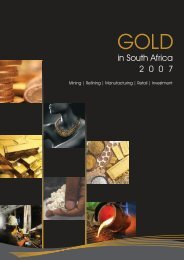 Gold in SOuth Africa 2007 - Introduction
