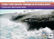 living with coastal erosion in kwazulu-natal - Department of ...