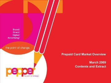 Prepaid Card Market Overview - Polymath Consultancy