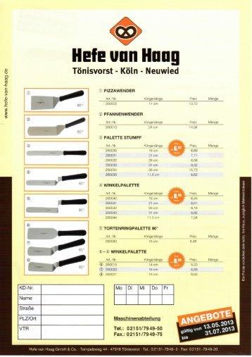 3 Tomsvorst - Koln - Neumed - Hefe van Haag GmbH & Co