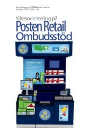 Textdesigner is Kommunikatör at Posten Retail - Zoomin
