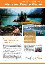 Alaska und Kanadas Westen - KanadischerWein.com