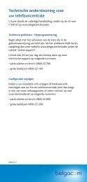 Forum Pho & analoog to - Belgacom