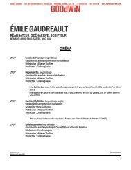 MARCEL BEAULIEU - Agence Goodwin