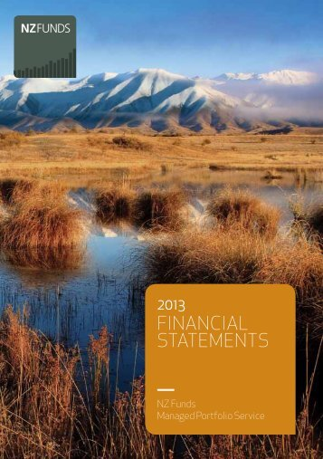 MPS annual review & Financial Statements - NZ Funds