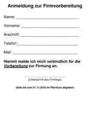 Anmeldung zur Firmvorbereitung - Christus-koenig-os.de
