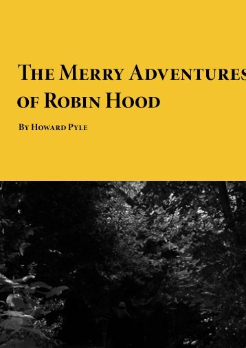 The Merry Adventures of Robin Hood - Planet eBook