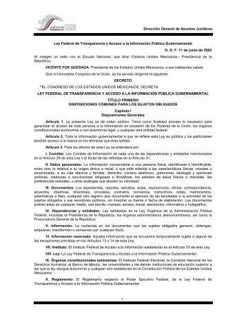 Con fundamento legal en la ley de informacion publica del for Oficina de transparencia y acceso ala informacion