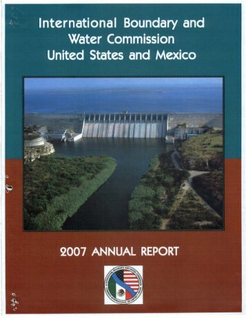 2007 - International Boundary and Water Commission