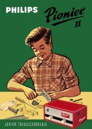 """Page 1 Page 2 INHOUD De """"Pionier II"""" . . . . . Ben transistorradio ..."""