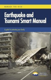 Earthquake and Tsunami Smart Manual - Cordova Bay Association ...
