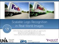 Scalable Logo Recognition in Real-World Images