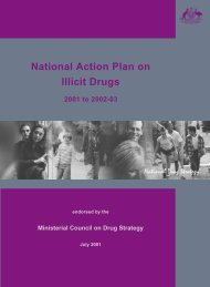 National action plan on illicit drugs 2001 to 2002-03 - book