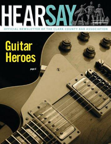 Guitar Heroes - Clark County Bar Association